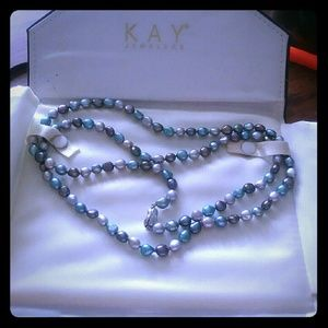 Kay jewelers tahitian pearl necklace